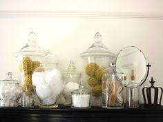 apothecary jars 47 Park Avenue.
