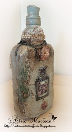 Inspired by Bottles for Country View Craft Mixed Media