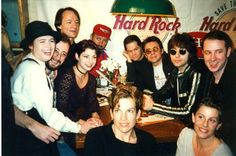 The Monkees and some of their children    From left to right clockwise:  Ami Dolenz, Christian Nesmith, Jessica Nesmith, Peter Tork, Michael Nesmith, Micky Dolenz, Davy Jones, Jason Nesmith, Jonathan Nesmith, Sarah Jones, and Talia Jones    Photo by Nurit Wilde