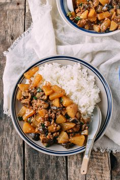 Everyone's raving about pumpkins, acorn squash, and butternuts but what about Chinese turnips (daikon radish). Braised turnip is healthy, delicious and easy Ground Meat Recipes, Pork Recipes, Asian Recipes, Cooking Recipes, Healthy Recipes, Ethnic Recipes, Chinese Vegetables, Rice Bowls, Kitchen