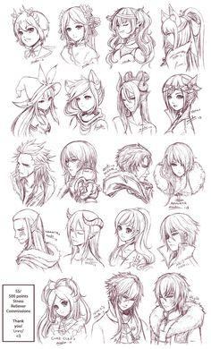 anime boy haircut - Recherche Google