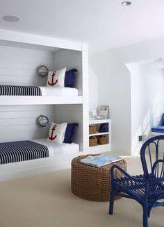 Habitación niños marinera