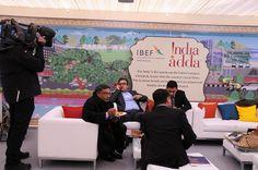 Day 2 at India Adda #wef14