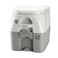 Image Dometic Portable RV/Marine Toilet - 5 Gallon, Gray. To Enlarge the image, click Control-Option-Spacebar