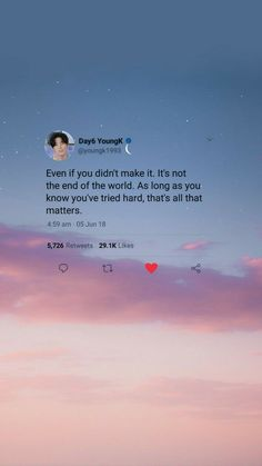 Discovered by raindefleur. Find images and videos about kpop, sky and wallpaper on We Heart It - the app to get lost in what you love. Life Quotes Wallpaper, Quotes Lockscreen, Bts Wallpaper Lyrics, K Wallpaper, Homescreen Wallpaper, System Wallpaper, Twitter Quotes, Instagram Quotes, Tweet Quotes