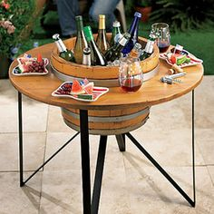 Outdoor Furniture, i have got to figure out how to make this...