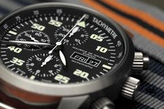 If you dont know what to give as a present... Maurice de Mauriac Zurich Chronograph Modern on Nato