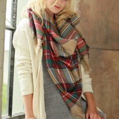 Obsessed with Blanket Scarves!! {$22 from Shop Hello Harper}