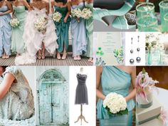 Sea Glass beach glass wedding inspiration ideas http://mariellonline.files.wordpress.com/2013/06/slide41.jpg