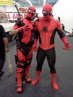 My Deadpool and Spiderman~!