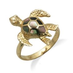Nice gift idea, beautifully crafted turtle ring.