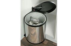 Automatic Waste Bin Kitchen Cupboard Storage Under Sink Bin P/Steel