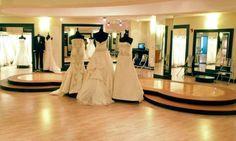 Floor of Bridal Shop Fort Flagler Washington