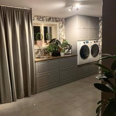Mudroom, Laundry Room, My House, Sweet Home, Kitchen Cabinets, Indoor, Bathroom, Interior, Home Decor