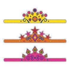 Color Your Own Tiaras - OrientalTrading.com
