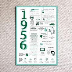 Weiteres - Ein tolles Geschenk: Jahreschronik 1956 - ein Designerstück von Jennifer_van_Rooyen bei DaWanda