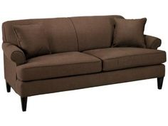 Custom Avery Sofa - Sofa, Brown-Home And Garden Design Ideas