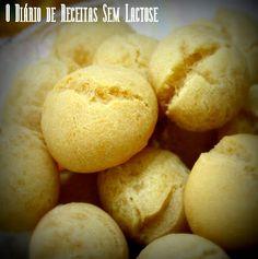 O Diário de Receitas Sem Lactose: Pão de Queijo Mega Especial com Truque (Sem Lactose, Sem Glúten, Sem Ovo)