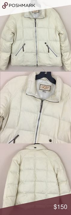 UGG Australia down feather puffer coat A couple tears in the lining otherwise perfect condition! UGG Jackets & Coats
