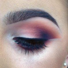 "447 Likes, 8 Comments - Ruth Bergin (@ruthberginmakeupartist) on Instagram: ""Close up of this eye look from my makeover today 🍇🍓🍉 eyeshadows Inglot 335,55,441, 63…"""