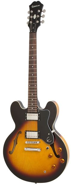 Guitarra Epiphone Dot Sunburst