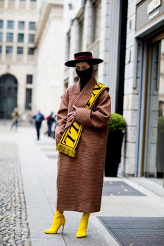 Best Street Style Looks of MFW Fall 2018