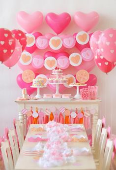 Valentine's Day Party - ways to copy this party design + fun activities for your guests!