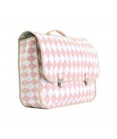 6b613928e0 Plecak Archimedes romby różowe Nobodinoz Akcesoria 2 Pink Diamonds
