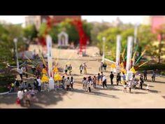 ミニチュア動画「志摩スペイン村 パルケエスパーニャの一日」 - YouTube
