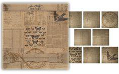 Advantus - Tim Holtz - Idea-ology Collection - 12 x 12 Paper Stash - Kraft Resist at Scrapbook.com $12.74