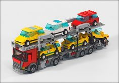 MOC: town, city, vehicle creator: k100m size: minifig very nice minifig scale vehicle MOC. the creator really creative by using unique S...
