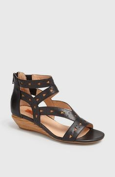 Miz Mooz Ponoma Two Tone Cutout Sandal