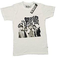 THE BEATLES - GET BACK - para hombre T-camiseta de manga corta producto oficial de #regalo #arte #geek #camiseta