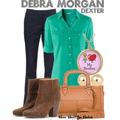 """Dexter"" by wearwhatyouwatch on Polyvore"