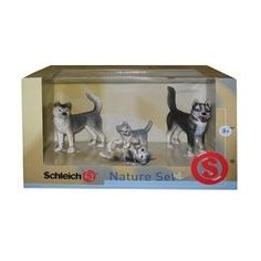 Schleich Husky Dog Family Box Set - Small review at Kaboodle