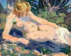 Santeri Salokivi (1886-1940) - Woman in the Sun