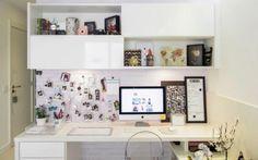 decor; bedroom; bed; frame; quotes; big windows; decoração; preto e branco; black and white; quarto; Jade Seba…