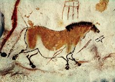 Lascaux Horse | Photo: http://legacy.earlham.edu/~vanbma/20th%20century/images ...