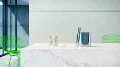 James Remodel A classic reinvented, new 5131 Calacatta Nuvo is Caesarstone's interpretation of natur