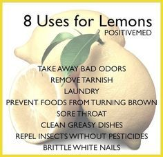 8 Uses for Lemons