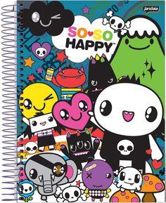 Caderno Universitario SoSo Happy 2013