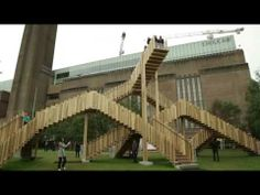 Endless Stair - adding a new dimension to timber in construction