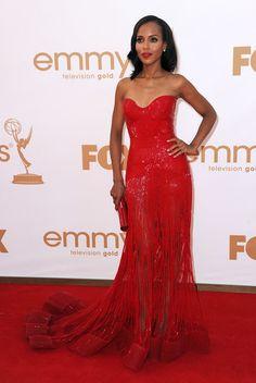 Kerry Washington Photos - 63rd Annual Primetime Emmy Awards - Arrivals - Zimbio