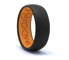 Groove Original Silicone Ring - Midnight Black Good ring to wear when you can't wear your formal wedding band due to safety reasons, or swelling joints.