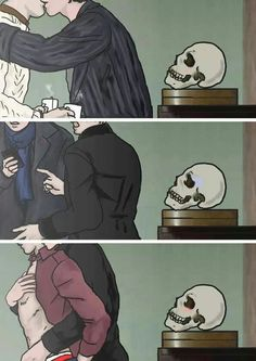 Almost didn't notice the skulls reactions XD