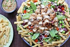 Asian Chopped Chicken Salad with Ginger Peanut Dressing | Tasty Kitchen: A Happy Recipe Community!