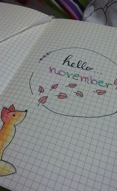 #bulletjournal #november #bujo #bullet #journal #erzsok