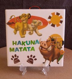 Lion King RARE Simba and Friends Nursery by DaisyDoodleTileShop, $9.00
