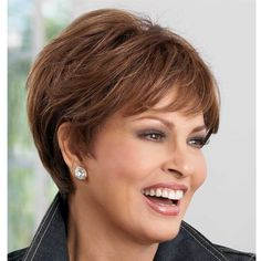Raquel Welch almost fifty here.  I like this cut.  Would it work for me?