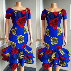 African Short sleeve midi dress,African fit and flare dress, African midi dress for women,african print midi dress,African clothing for wome African Short sleeve midi dressAfrican fit and flare dress image 0 Ankara Dress Styles, African Fashion Ankara, Latest African Fashion Dresses, African Dresses For Women, African Print Dresses, African Print Fashion, African Attire, Ankara Gowns, Fashion Prints
